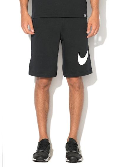 Nike Bermude sport cu imprimeu logo Barbati