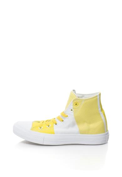 Converse Uniszex magas szárú sneakers cipő kontrasztos részletekkel női
