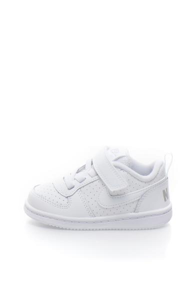 Nike Court Borough sneakers cipő bőr részletekkel Fiú