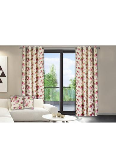 Heinner Home redőzött függöny, 140x270 cm, Pamut, Rózsaszín virágos modell férfi