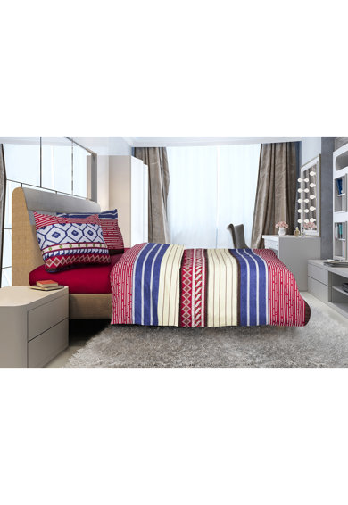 Heinner Home Lenjerie de pat pentru 2 persoane  100% bumbac, 4 piese Femei