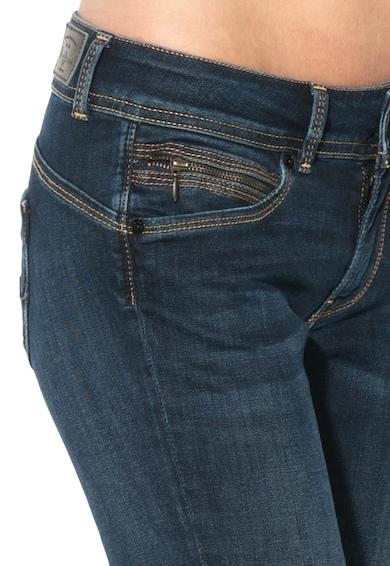 Pepe Jeans London Blugi slim fit cu talie medie New Brooke Femei