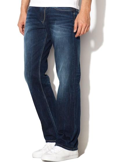 Pepe Jeans London Тъмносини дънки с права кройка Мъже