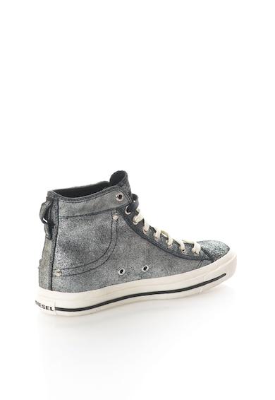Diesel Кожени спортни обувки в черно Жени