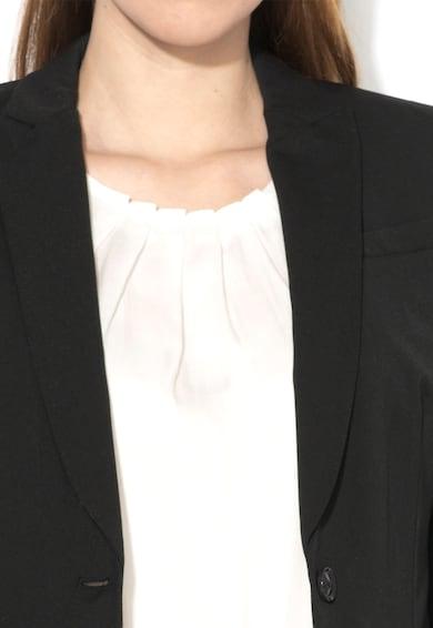Esprit Sacou negru inchis cu doi nasturi Femei