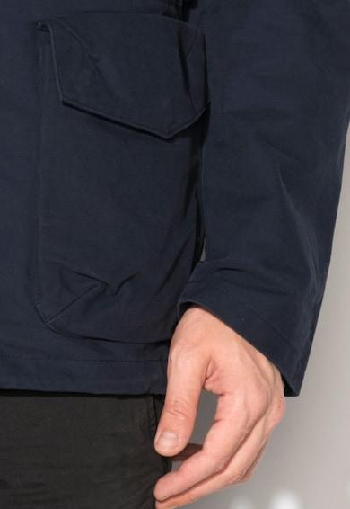 Esprit Tengerészkék 2in1 Kapucnis Kabát férfi