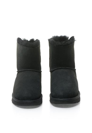 UGG Cizme scurte negre de piele intoarsa Mini Bailey Femei