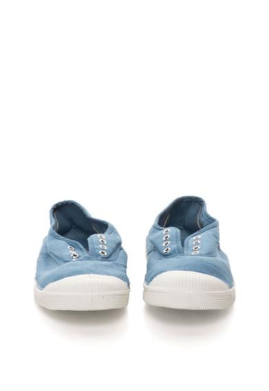 Bensimon Kék Púderkék Cipőfűző Nélküli Cipő női