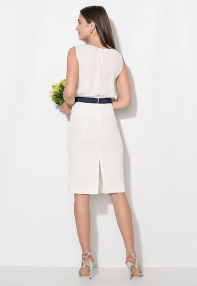 Zee Lane Collection Top alb cu croiala lejera Femei