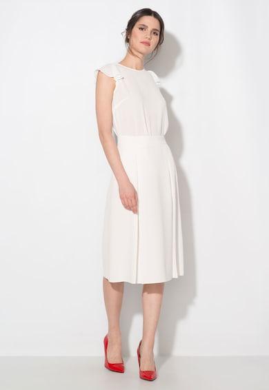 Zee Lane Collection Fehér Enyhén Áttetsző Blúz női