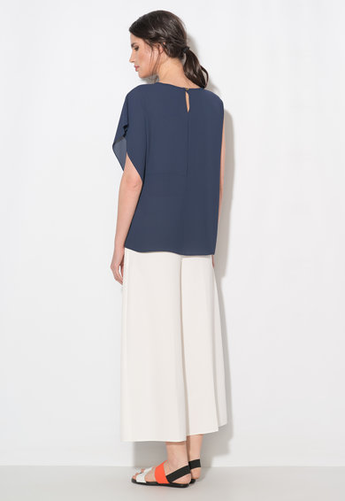 Zee Lane Collection Bluza bleumarin cu o maneca Femei