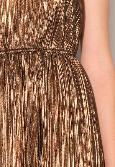 Zee Lane Collection Rochie maro bronz cu bretele inguste Femei