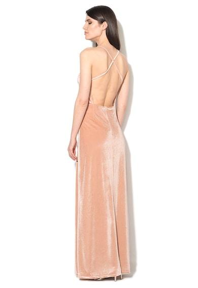 Glamorous Rochie lunga roz deschis catifelata Femei