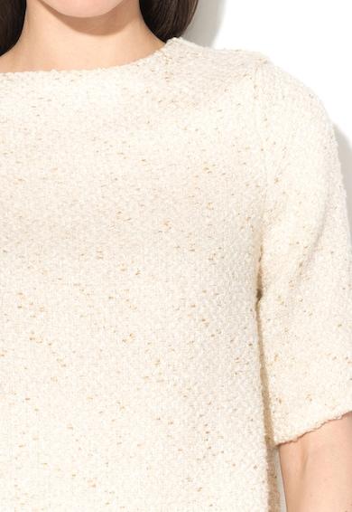 Glamorous Törtfehér Vékony Pulóver Aranyszín Lurexbetétekkel női