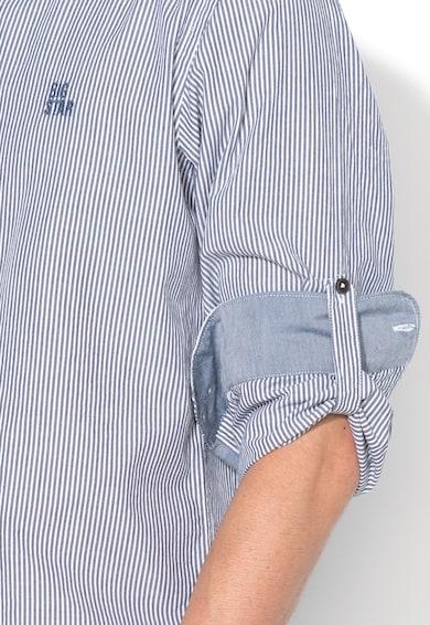 Big Star Раиран риза Serkan със стандартна кройка Мъже