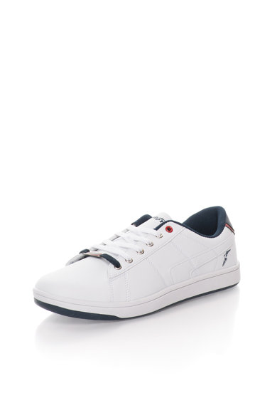 Goodyear Бели спортни обувки с тъмносини детайли Мъже