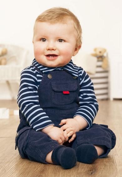 JoJo Maman Bebe Salopeta bleumarin din reiat Baieti