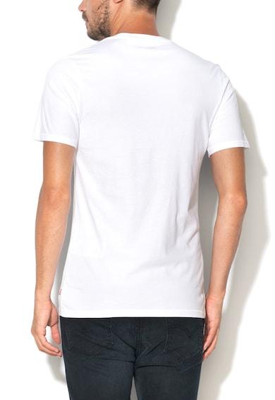 Levi's Бяла тениска с червено лого Мъже