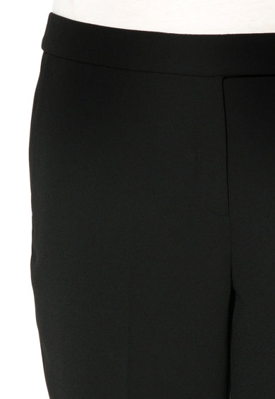 Esprit Pantaloni negri cu o curea Femei
