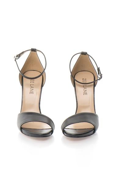 Zee Lane Sandale negre de piele Femei