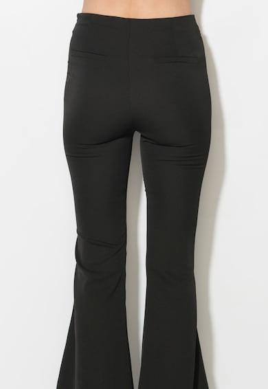 Zee Lane Collection Pantaloni negri evazati Femei