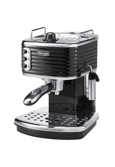 DeLonghi Espressor manual premium De'Longhi Scultura ECZ351.BK, 1100 W, 1.4 l, 15 bari, Sistem Cappucino, Negru Femei
