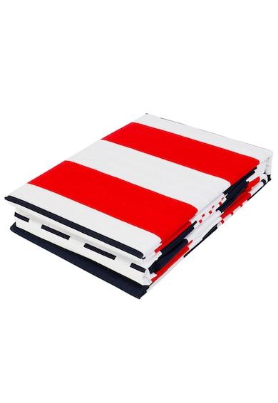 Kring Pastel Kétszemélyes ágynemű garnitúra, tengeri minta, Kék/Piros férfi