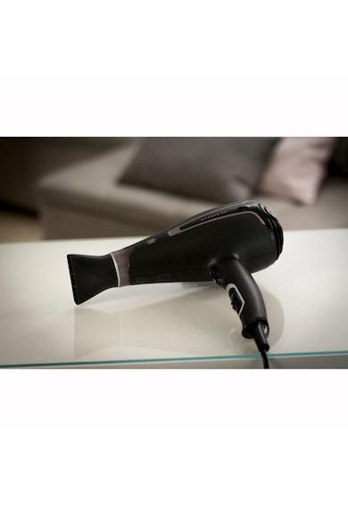 Rowenta Сешоар  Silence Premium Care , 2300W, Функция йонизиране, 6 скорости, AC мотор, Студен въздух, Концентратор, Дифузер за обем, Черен Жени