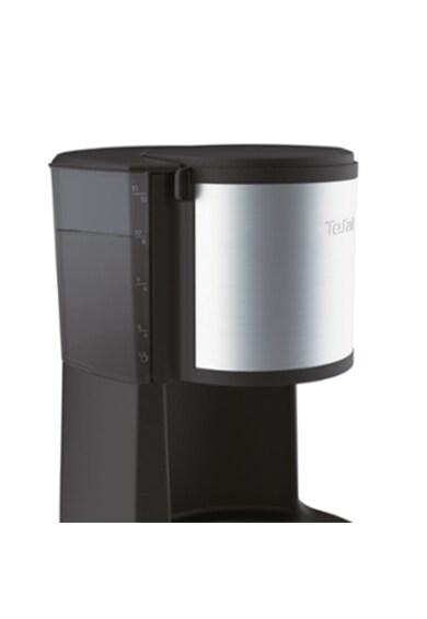 Tefal Cafetiera  Subito Select , Capacitate de 10-15 cesti, 1.25L, Pastrare la cald de 30 min, Functie de oprire automata, Filtru cu suport rotativ, Negru/Argintiu Femei