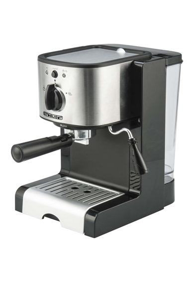 Star-Light Espressor manual  , 15 Bar, Dispozitiv spumare, 1.5 l Femei