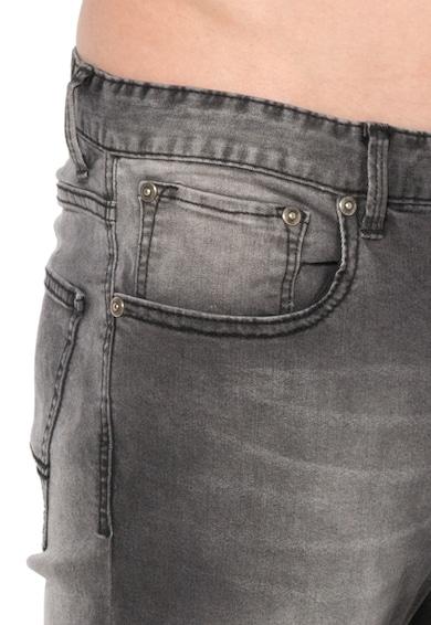 Alcott Прилепнали дънки със захабен ефект Мъже