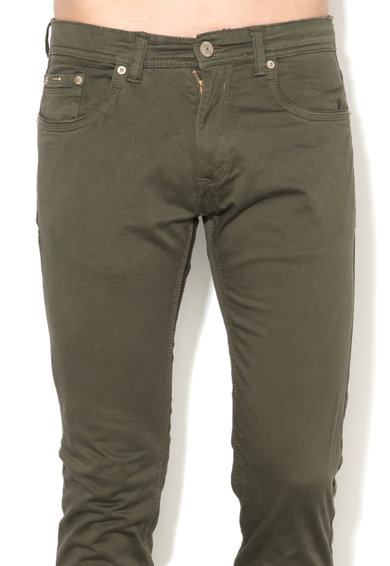 Alcott Прилепнал панталон в тъмна маслина Мъже