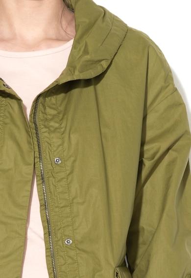 Geox Katonai Zöld Könnyű Súlyú Kabát női