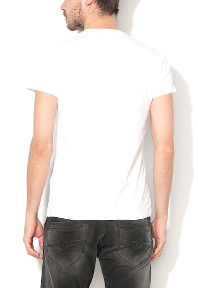 Pepe Jeans London Original Fehér Szűk Fazonú Póló Logómintával férfi