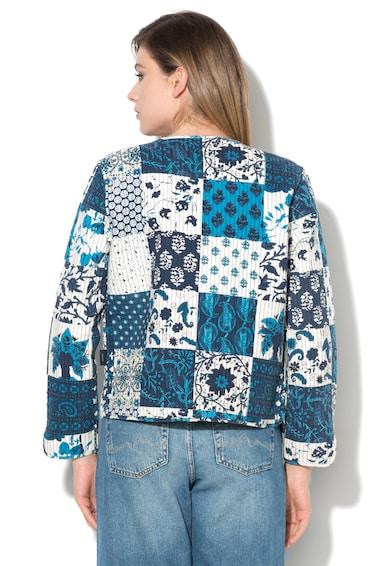 Pepe Jeans London Сако в бяло и сини нщанси с две лица Жени