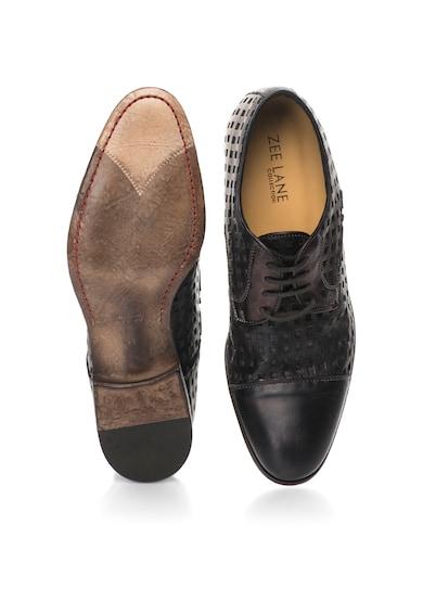 Zee Lane Collection Обувки в кафяв металик с отвори Мъже