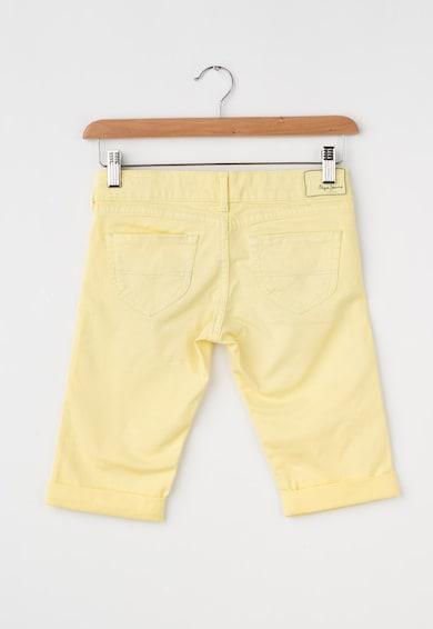 Pepe Jeans London Детски дънки в жълто Момичета