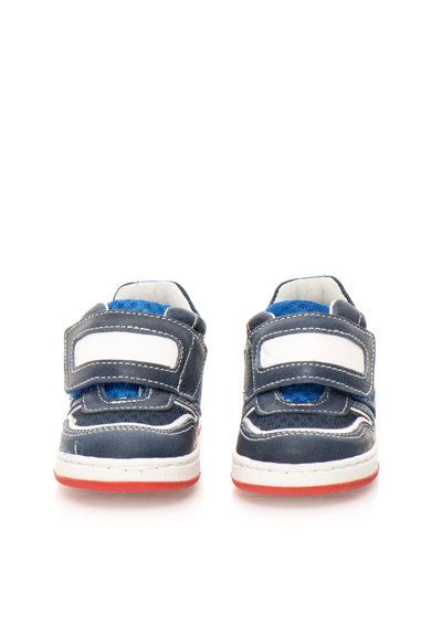 Zee Lane Fiú Kék & Fehér Cipő Bőrrel Fiú