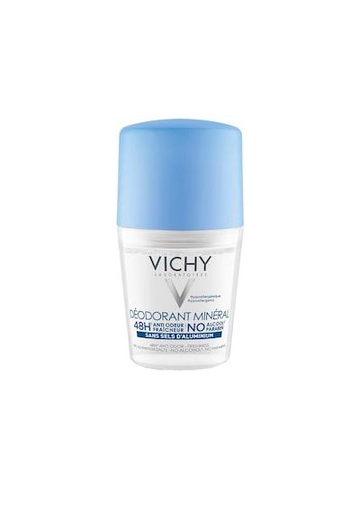 Vichy Deodorant roll-on  Mineral fara saruri de aluminiu, eficacitate 48h, 50ml Femei