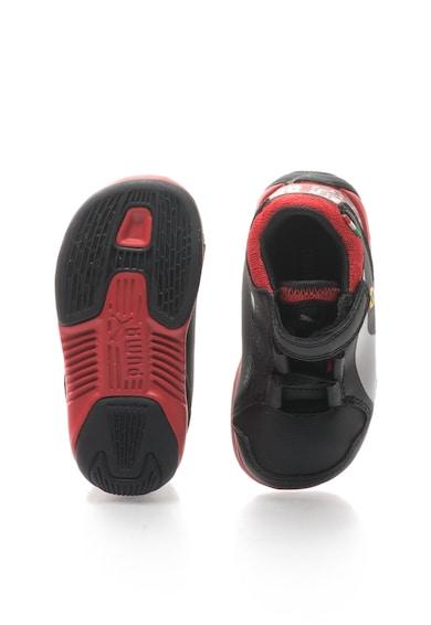Puma Gyermek Valorosso Fekete & Piros Cipő Lány