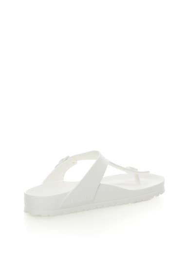 Birkenstock Gizeh Fehér Flip-Flop Papucs Normál Lábfejre női