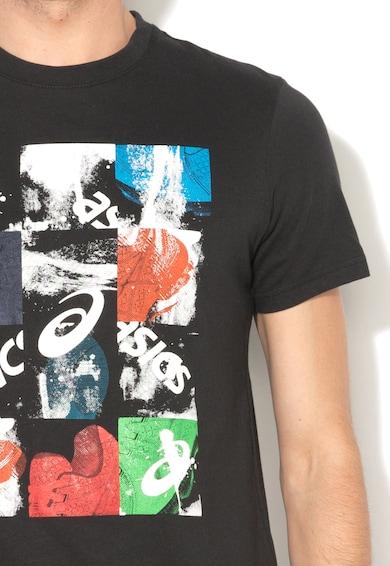 Asics Черна тениска с щампа Мъже