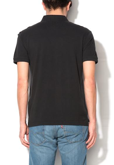 Levi's Tricou polo negru cu logo Barbati