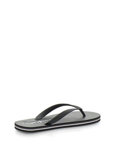 Pepe Jeans London Черни чехли Мъже