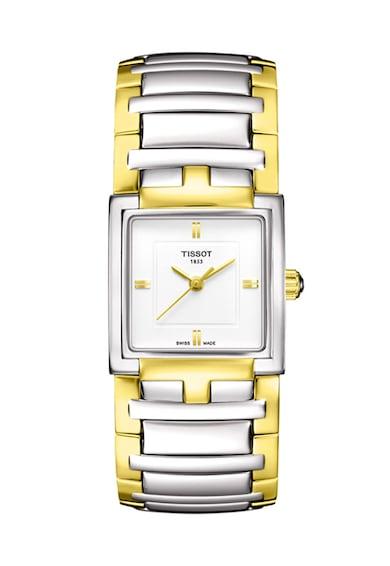 Tissot Часовник T-Trend в сребристо и златисто Жени