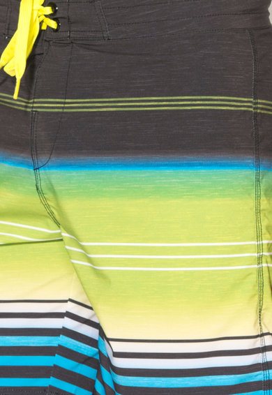 Fundango Pantaloni scurti cu model in dungi, pentru surfing Wave Barbati