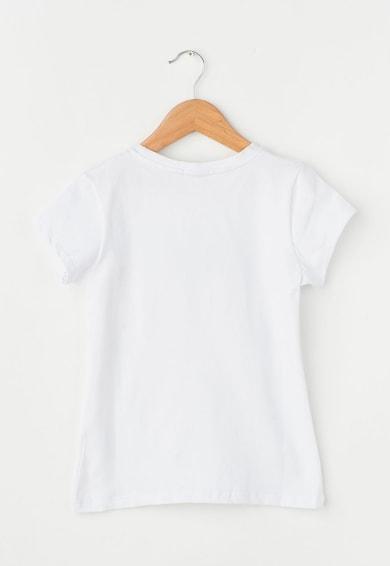 Zee Lane Kids Детска бяла тениска с щампа Момичета