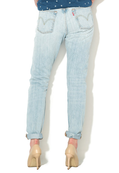 Levi's Jeansi skinny bleu cu aspect decolorat 501® Femei