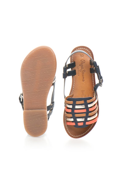 Pepe Jeans London Детски цветни сандали с каишки Момичета