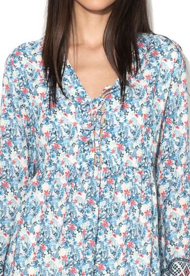 Pepe Jeans London Rochie multicolora cu maneci evazate Alyssa Femei